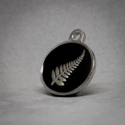 Medalla para Perro Hoja Negra
