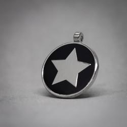 Medalla de Perro Estrella negra