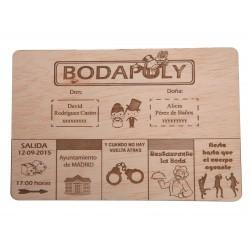 INVITACION BODAPOLY