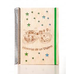 Libreta Historia de un Viajero