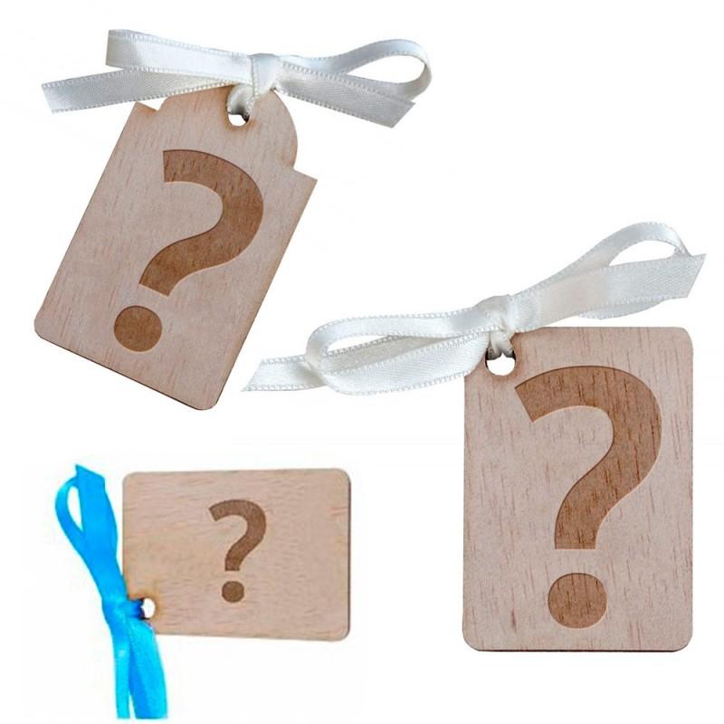 etiqueta para detalles de boda personalizada de madera