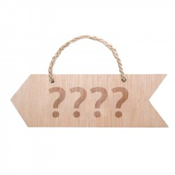 flecha boda personalizable de madera