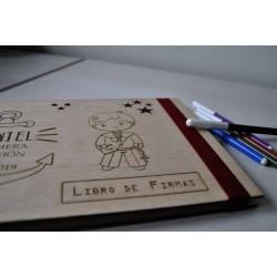 Álbum de comunión Niño marinero