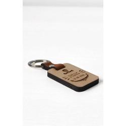 llavero de madera personalizado ancla