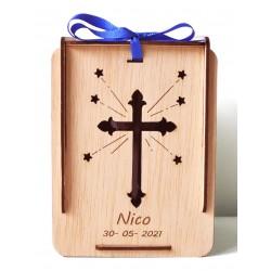 caja la cruz para comuniones