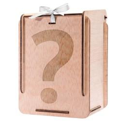 caja de madera para detalles de bautizo personalizada