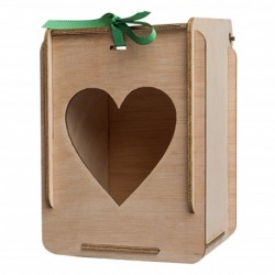 caja de detalles de boda personalizada en madera para bautizo